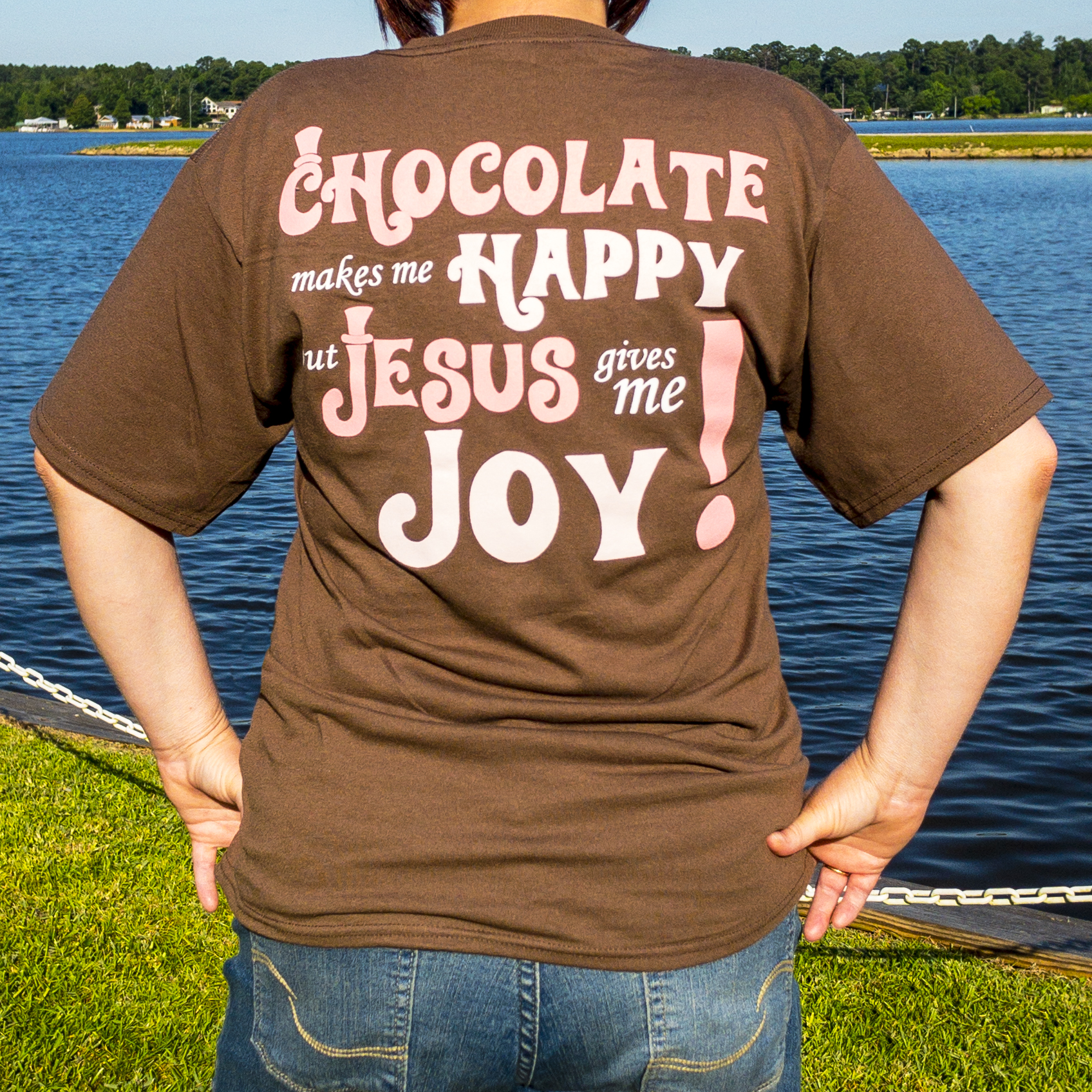 Jared Alan Meyers | Chocolate Makes Me Happy T-Shirt